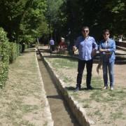 Presentación regadera del parque